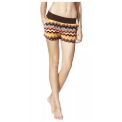 MISSONI Target LIMITED EDITION SOLD OUT! CHEVRON PRINT VELOUR SHORTS SIZE XL NEW
